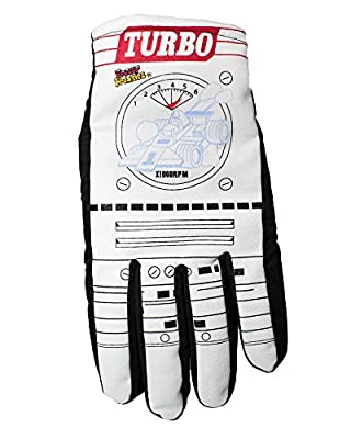 Freezy Freakies Turbo Style - Retro Color-Changing Winter Snow Gloves for Adults