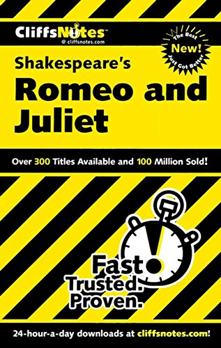 CliffsNotes on Shakespeare's Romeo and Juliet (Cliffsnotes Literature Guides) ()