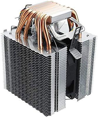 Andifany 6 Tubo de Calor 4 Cables de un Solo Ventilador Sin Luz ...