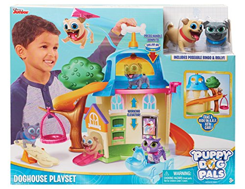Dog Playset - Just Play Puppy Dog Pals House Playset, Multicolor