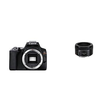 CANON DIGITAL CAMERA EOS REBEL SL3 (BK) Body With EF 50mm f/1.8 STM Lens