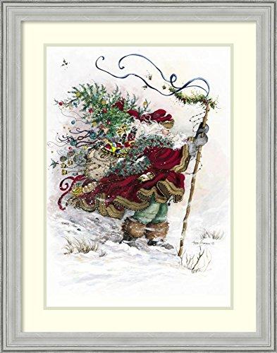 Windswept Traveler (Framed Art Print 'Windswept Traveler' by Peggy Abrams)