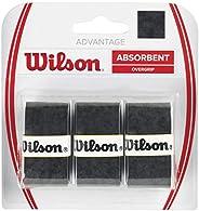Wilson Raquete de tênis Advantage Over Grip (pacote com 3)