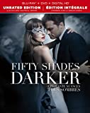 Image of Fifty Shades Darker / Cinquante nuances plus sombres [Blu-ray + DVD + Digital HD] (Bilingual)