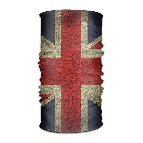 Magic Headwear UK Flag Outdoor Scarf Headbands Bandana Mask Neck Gaiter Head Wrap Mask Sweatband -