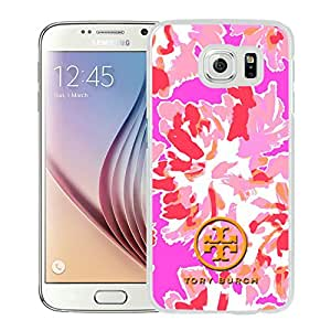 Fashionable And Durable Custom Designed Cover Case For Samsung Galaxy S6 With Tory Burch 21 White Phone Case
