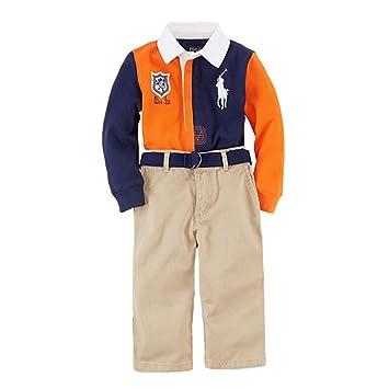 2e60ca64 Amazon.com : Ralph Lauren Polo Baby Boys Big Pony Rugby Shirt ...