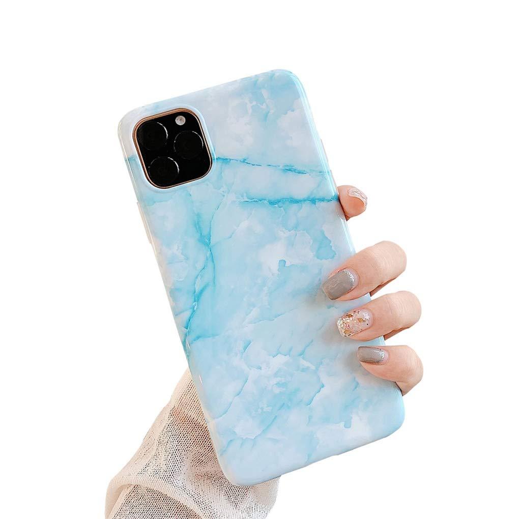 LPZOOOM Marmor H/ülle Kompatibel iPhone 11 Staubschutz Anti-Kratz Schutzh/ülle Case Cover f/ür iPhone 11 H/ülle iPhone 11 Sto/ßfest Ultra D/ünn Silikon Weich TPU Mode Marmormuster Handyh/ülle