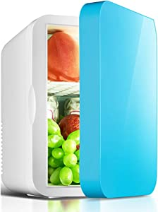 TOPYL Offices,Dorms,6L Portable Compact Refrigerators,Quiet in-Vehicle Freezer for Cars,Homes,Mini Fridge with Cooler and Warmer