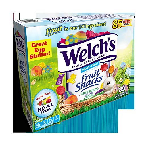 Welch's Easter Fruit Snacks, 85 ct./0.5 oz. ( 1 box )
