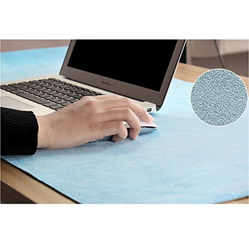 PU Leather Lager Mouse Pad Mat Desk Pad Protecter- Ultra-Smooth Waterproof Large Pad Writing Gaming Desk Pad No Slip