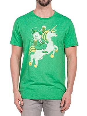 Tipsy Elves Men's Lepricorn Tee - ST. Patrick's Day T-Shirt