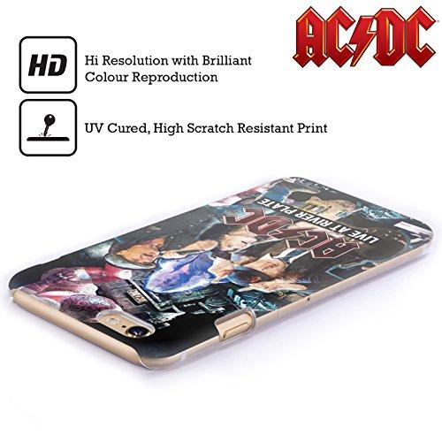 Officiel AC/DC ACDC Concert Collage Étui Coque D'Arrière Rigide Pour Apple iPhone 4 / 4S