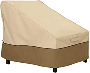 Classic Accessories Veranda Water-Resistant 28 Inch Patio Armless Chair or Sectional Cover
