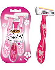BIC Simply Soleil Disposable Women's Razors - Pack of 3