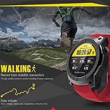 S958 SmartWatch GPS Deportes podómetro Monitor de Ritmo cardíaco ...