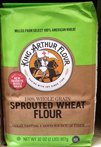 King Arthur Sprouted Wheat Flour 2Lb (Pack of 3)