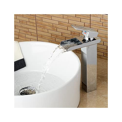 high-quality W&P United States standard Centerset single-lever Chrome bathroom sink faucets single hole , silver