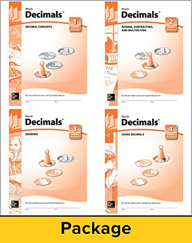 - Key to Decimals, Books 1-4 Set (KEY TO...WORKBOOKS)