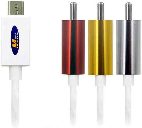 ollivan MHL Micro USB a RCA AV Cable adaptador convertidor para ...