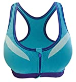 Beloved Women Racerback Sports Bras-High Impact Workout Gym Activewear Bra Blue XS - Best Reviews Guide