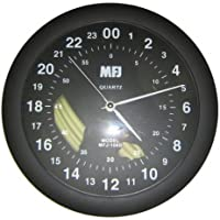 MFJ-105D Clock, 24-hour analog
