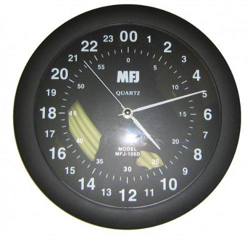 - MFJ-105D Clock, 24-hour analog