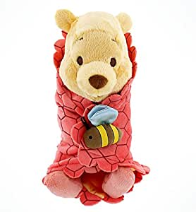 Disney Baby Winnie The Pooh In A Blanket Plush Doll By