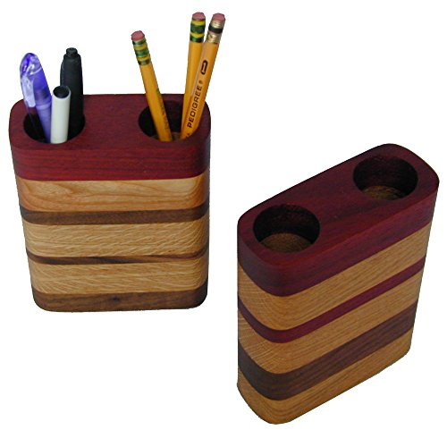 Wisconsinmade Hardwood Pen and Pencil Holder