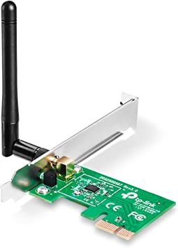 TP-Link TL-WN781ND - Adaptador PCI Express (150 Mbps, 2.4 GHz, 802.11n/g/b, 2 antenas desmontables)