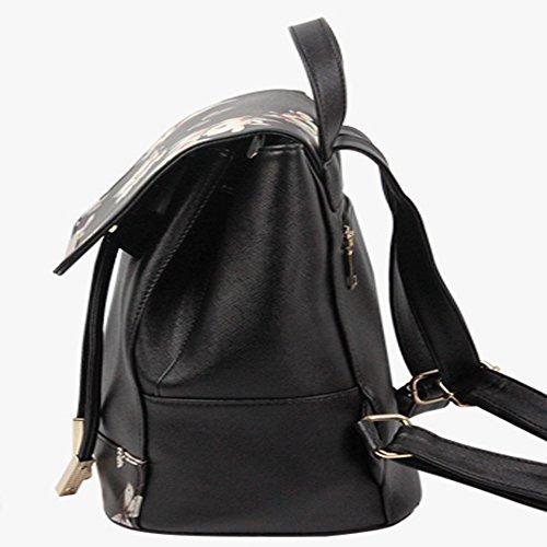 sfpong - Bolso mochila  para mujer Impresión De La Mariposa