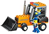 Building blocks Bull Dozer 92 Pcs set, action earth lifting bucket, operated by 2 construction workers - a must gift for every 6+ engineer, Compatible To All Major Brands