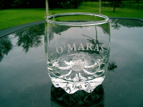 O'Mara's Irish Country Cream Glass with Etched (Irish Country Cream)