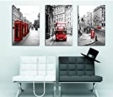 Modern Wall Painting London Landscape Home Decorative Art Picture Paint on Canvas Prints