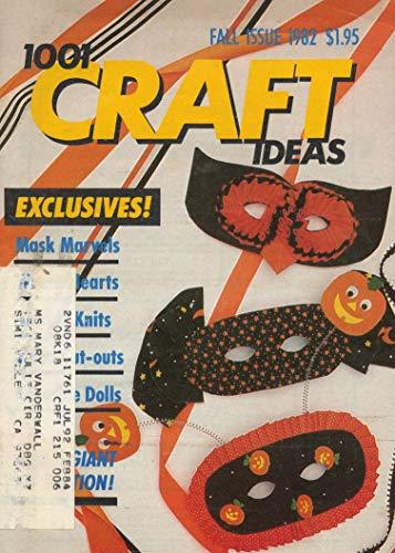 1,001 CRAFT IDEAS Magazine - Fall,
