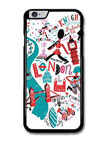 London City Symbols Illustration coque pour iPhone 6 Plus 6S Plus