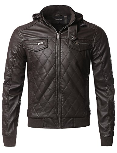 Quilted Leather Cropped Jacket - 7