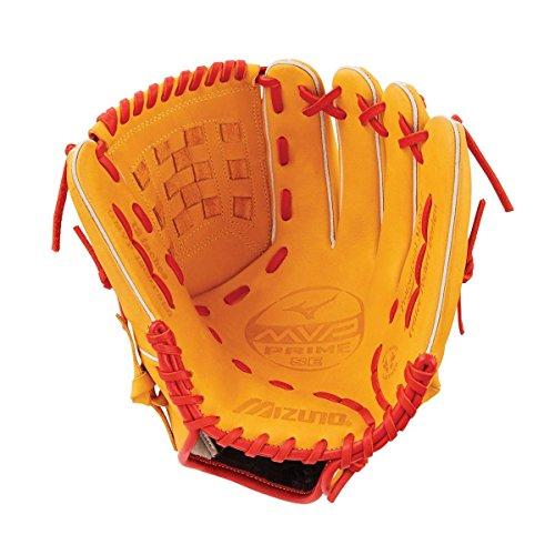 Mizuno MVP Prime SE GMVP1200PSE6 Infield/Outfield/Pitcher Model Gloves, Cork/Red, 12