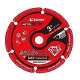 EZARC Diamond Cutting Wheel 3 x 3/8 Inch for