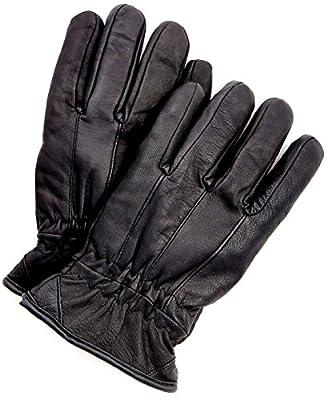 Riparo Men's Insulated Full-Grain Leather Driver Work Glove