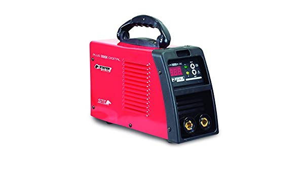 STAYER 1.1605 - INVERTER MMA Soldadura por Electrodo 30% 200A 2,-5mm 5kg KVA2-6 PLUS 200 DIG GEK: Amazon.es: Bricolaje y herramientas