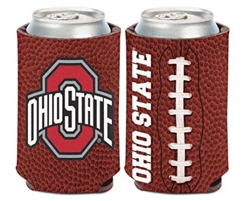 NCAA Ohio State OSU Buckeyes 1 Pack 12 oz. 2-Sided Can Cooler