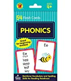 Carson Dellosa - Phonics Flash Cards - 54 Cards, Sight Words, Learn to Read for Preschool and Kindergarten Toddlers, Ages 4+ with Bonus Game Card