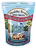 Natural Balance Turkey, Oatmeal and Cranberry Dog Treats, 8-Ounce Bag, My Pet Supplies