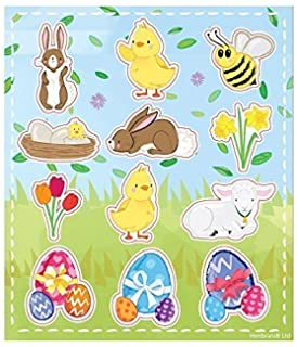 Easter Foam Stickers for Children Creative Art Supplies /& Decorations Pack of 120