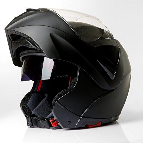 Klapphelm Integralhelm Motorradhelm CMX Vader matt schwarz