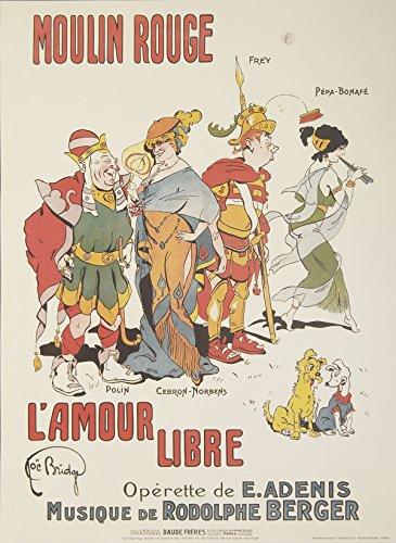 - Joe Bridge-Moulin Rouge-L'Amour Libre-2004 Poster