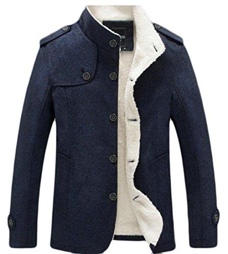 Lining M Men's Thick Parka Cotton Fleece amp;W Jacket 2 Outdoor Coat amp;S CqwrCRz
