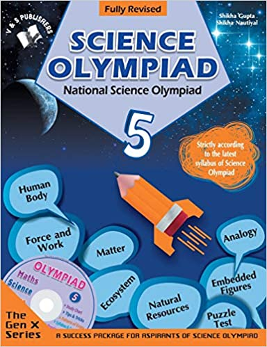 Buy National Science Olympiad - Class 5 with CD: Theories with