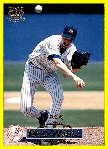 1996 Pacific #372 Jack McDowell new york yankees